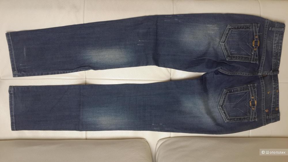 Итальянские синие джинсы Yell!! как новые , поб 49 см
