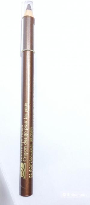 Estée Lauder карандаш для глаз коричневый.Новый