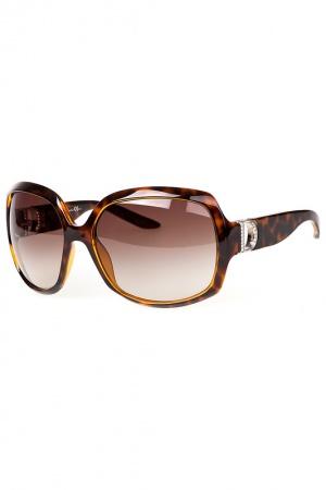 Очки Christian Dior Diorevening оригинал квадратной формы, коричневая оправа.
