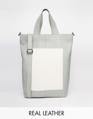 Большая сумка ASOS. Натуральная кожа. Новая