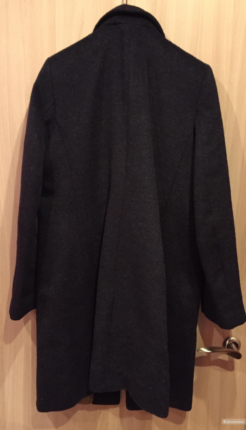 Новое шерстяное пальто Laura Ashley