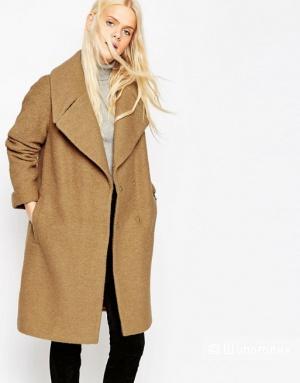 Oversize-пальто с отворотами на манжетах ASOS