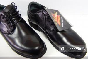 Новые мужские ботинки Academy Oxford из натуральной кожи 45-46 размер. на стопу до 30 см