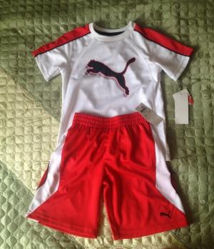 Спортивная форма puma на 6-7 лет, оригинал