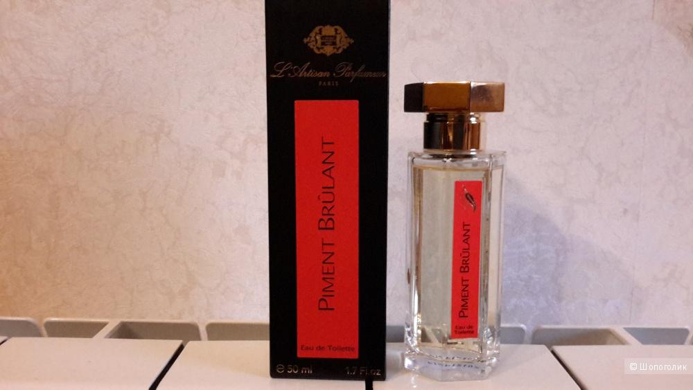 Piment Brulant, L Artisan Parfumeur едт от 50 мл без 2 проб