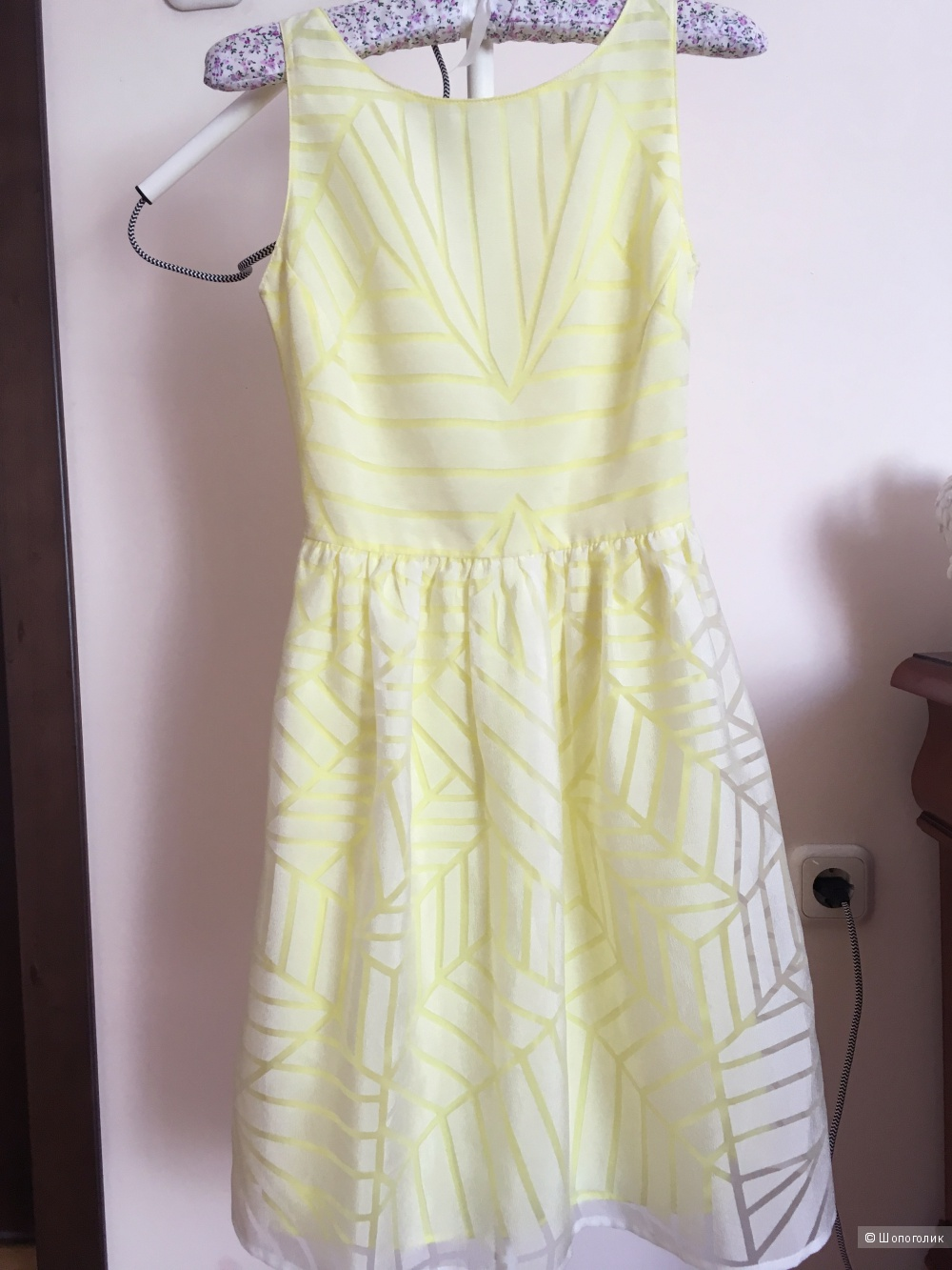 Платье PROMOD лимонное