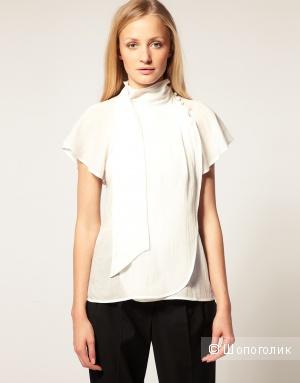 Блузка белая French Connection