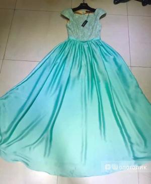 Шёлковое платье Elie Saab(реплика люкс)