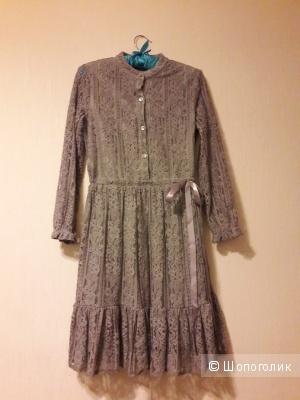 Платье кружевное размер 42-44