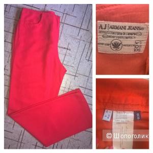 Брючки Armani Jeans из конопли. Оригинал. На 44 р-р