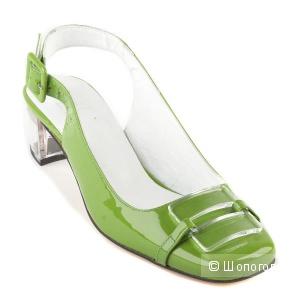 Новые туфли Ras (Испания) 100% КОЖА лак евро 39