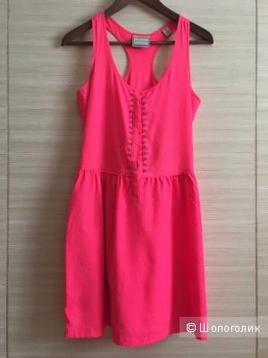 Платье Maison Scotch цвет Neon Pink размер XS-S