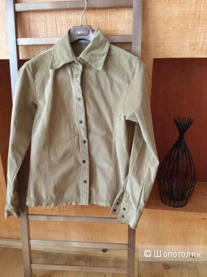 Рубашка женская Glenfield, Италия, оригинал,р-р 44-46 песочного цвета