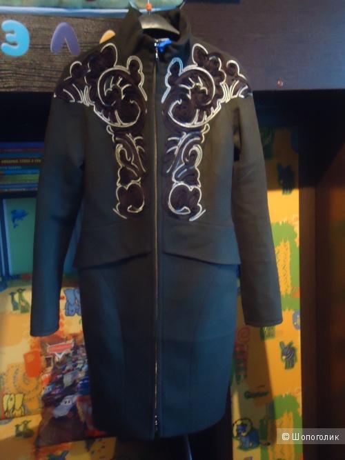 Новое кашемировое пальто Raslov 46-48 р-р