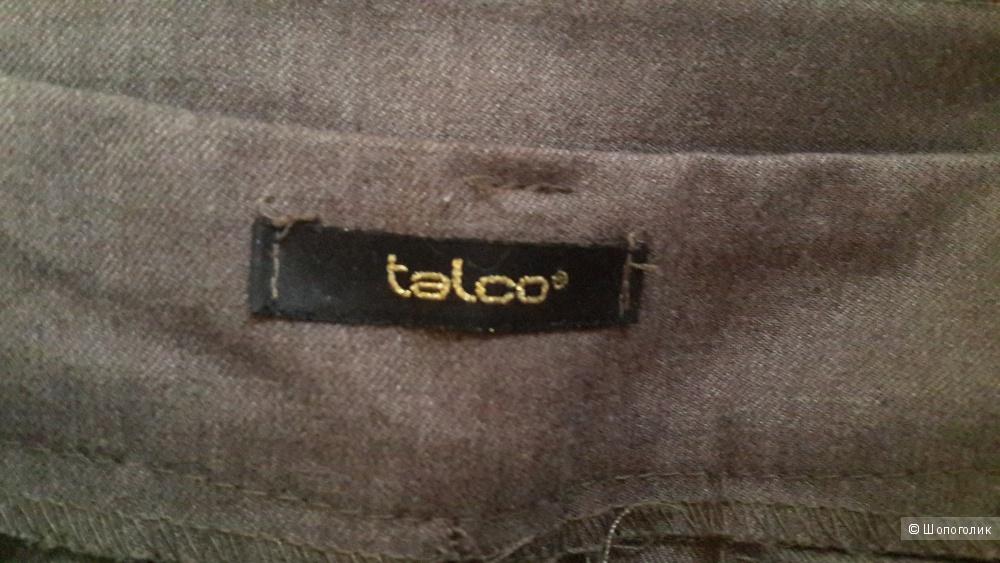 Брюки цвет кофе с молоком Италия бренд Talco на 44-46