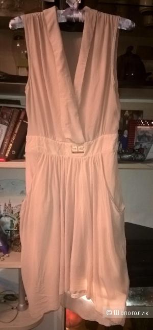 Пудровое платье Elizabetta Franchi оригинал
