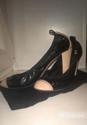 Туфельки-балетки CHANEL оригинал на 38 размер