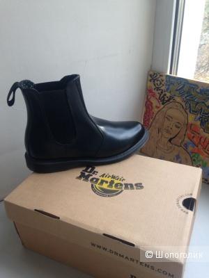Продаю Dr.Martens ботинки чёрные женские.р.38
