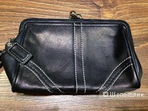 Клатч-кошелек от легендарного COACH Новый