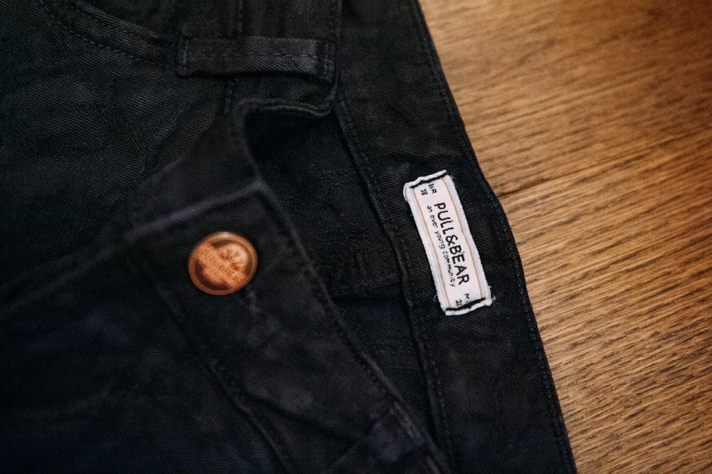 Жаккардовые джинсы Pull&Bear новые, р.38 (по факту скорее 36)