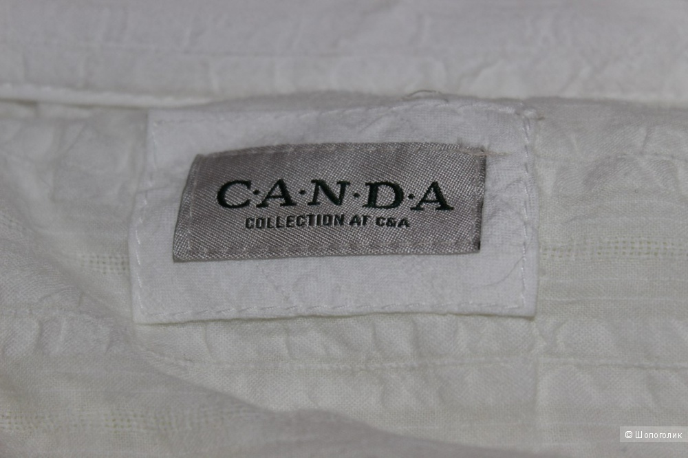 Женская рубашка блуза C&A Canda Германия,размер немецкий 48 (русский 52-54) XXXL,новая
