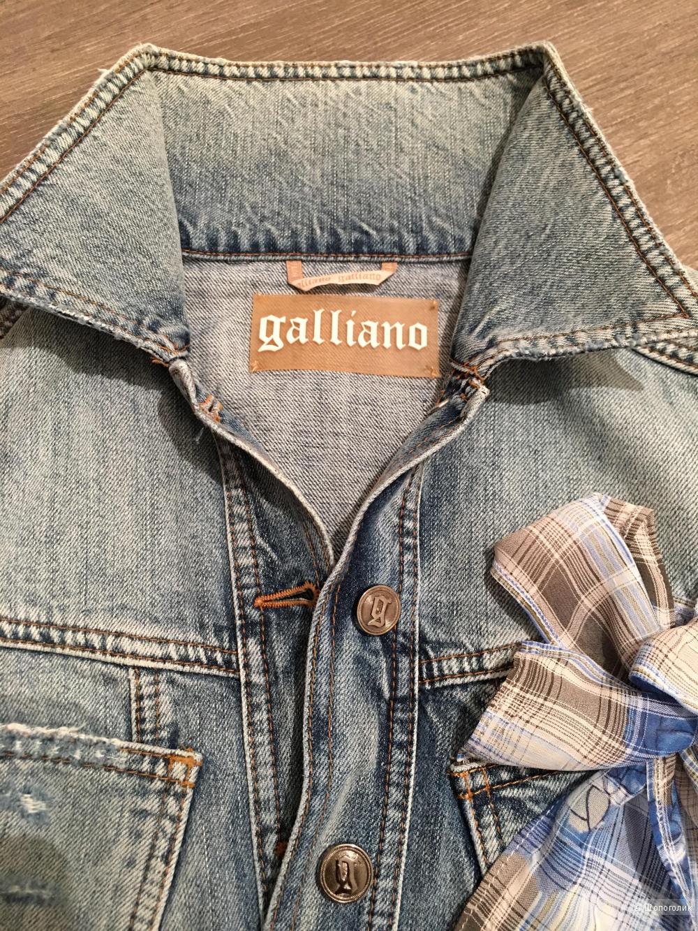 Galliano, деним, куртка