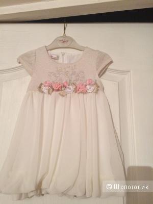 Платье для маленькой принцессы, очень нарядное, размер - 18 месяцев