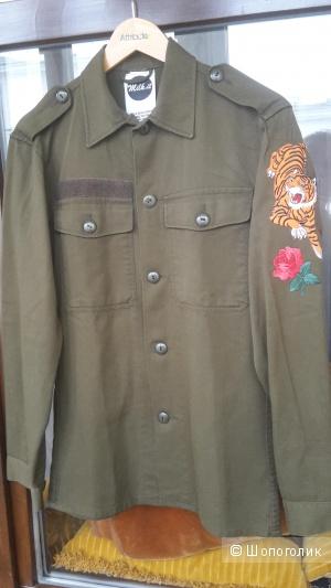 Рубашка женская милитари Milk It Vintage