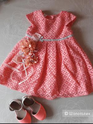 Нарядное платье для девочки Carters 18-24