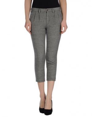 Новые укороченные брюки из шерсти с шелком (+) people