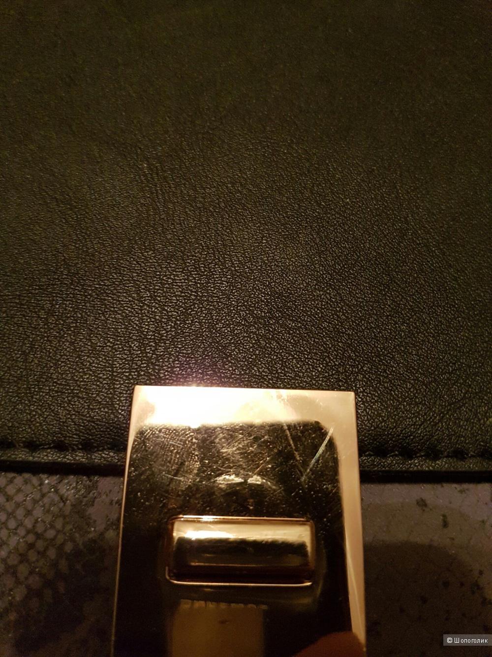 Контрастная сумка-сэтчел New Look Ciara