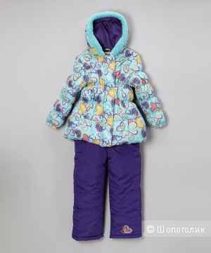 Детский зимний костюм Pink Platinum