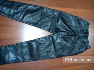Модные брюки из натуральной кожи Danier. Оригинал.