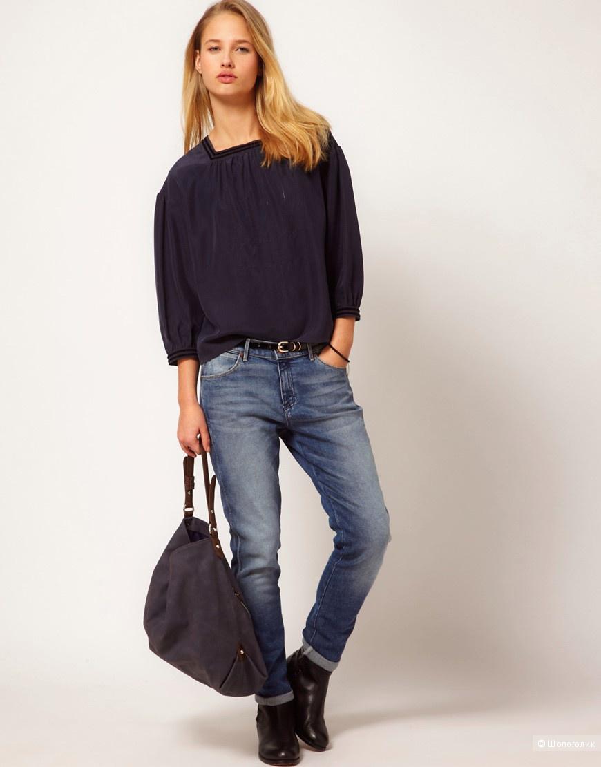 Шелковая блуза YMC