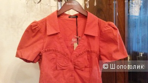 Блуза хлопковая Morgan, Франция, р.40-42