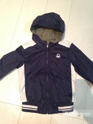 Benetton куртка двухсторонняя
