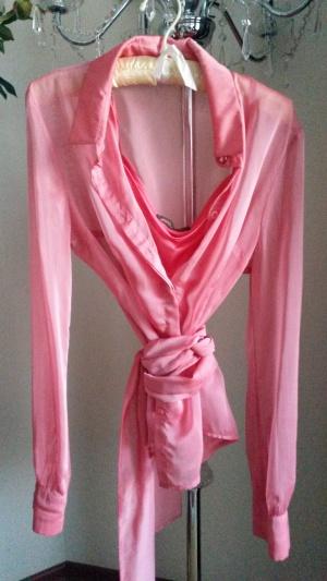 Блузка розовая р.46-48, Турция
