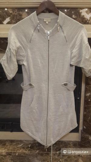 Кардиган, кофта на замке Karen Millen 100 merino wooll