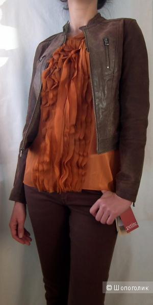 Кожаная куртка LEVIS XS