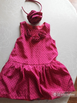 Платье Gumboree для маленькой принцессы, 12-18 мес