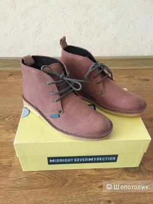 Ботинки для мальчика, новые, Momino (Италия), натуральн. кожа-замша, 31 размер