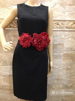 Красивое строгое офисное платье MANGO р.44