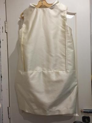 Платье Victoria, Victoria Beckham золотистое, размер UK 12 (48)