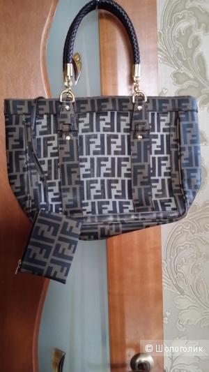 Новая сумка Fendi люксовая копия