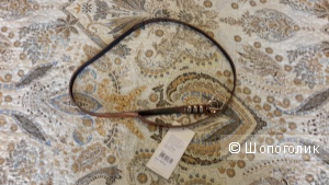Ремень Zarina размер L кожа, новый, цвет бронзовый