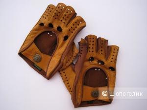 Кожаные автомобильные перчатки Alpa Gloves