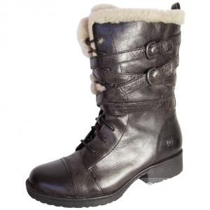 Женские кожанные ботинки  Born, б\у