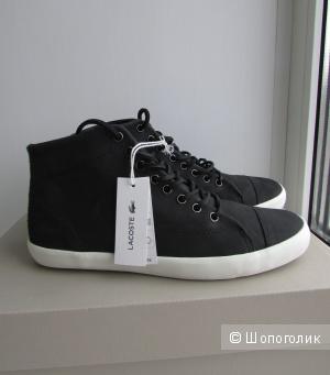Новые кожаные кеды Lacoste