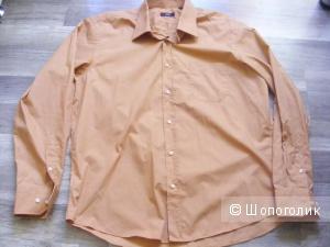 Рубашка мужская BOSS HUGO BOSS 44 ворот (17,5) на 54-56 размер НОВАЯ