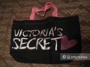 Черная сумка Victoria's Secret